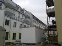 Hinterhausbebauung an der Bibliothek Neustadt